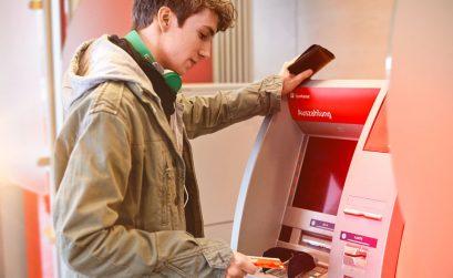 Geldautomat, Bargeld, abheben,