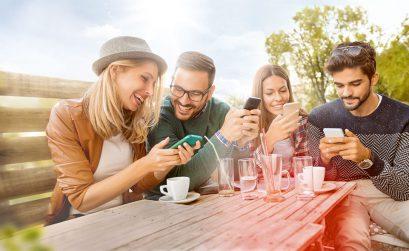 Digitalisierung, Handy, Smartphoone, Downloads, Nachhaltigkeit