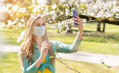 Gewinnspiel, Foto, Mundschutz, Selfie, Maske
