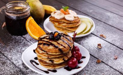 Pfannkuchen, Pancake, Topping, Rezept, Frühstück