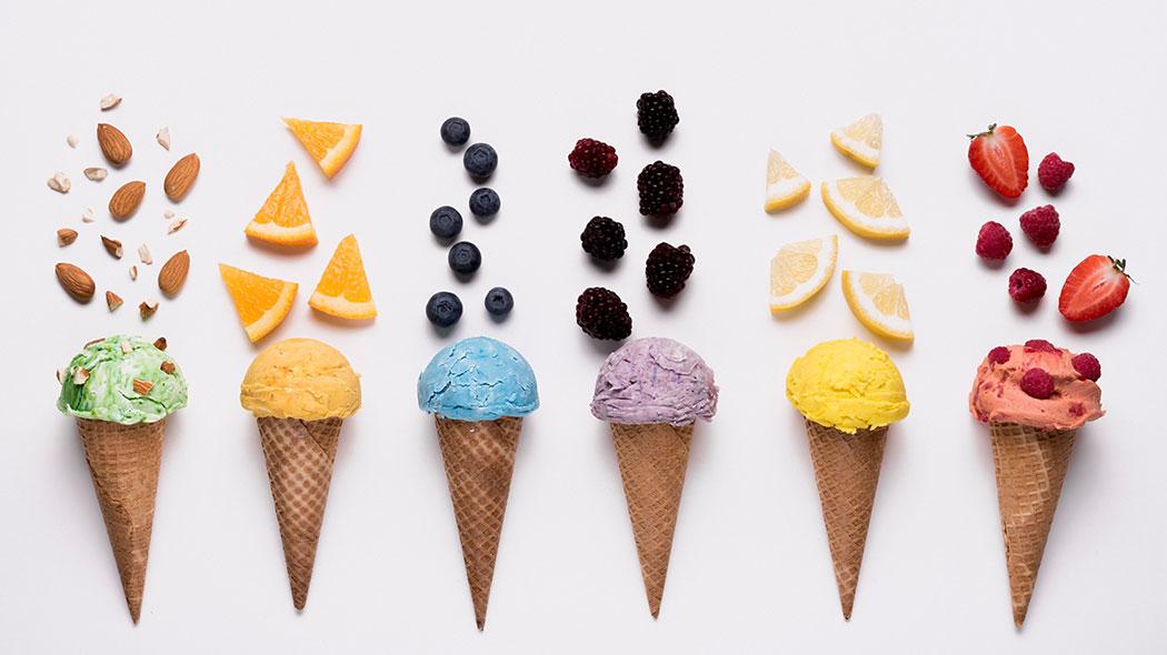 Rezepte, Selbstgemacht, Sommer, Eis