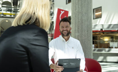 Herr Nikolic, Stadtsparkasse München, Interview, Start-Up