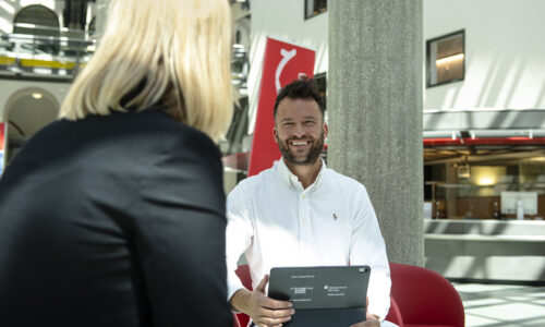 Herr Nikolic, Stadtsparkasse München, Interview, Start-Up