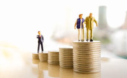 Unternehmer, Altersarmut, Selbstständige, Rente, Junge Leute, Pension, Geld, Private Vorsorge
