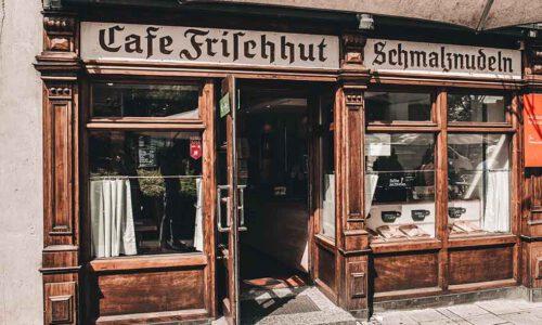 Café, Schmalznudeln, Köstlichkeiten, Laden, München, Tradition