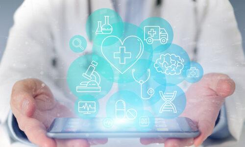München. Arzt, digital, Corona, online, diagnose, virtuell, Sprechstunde
