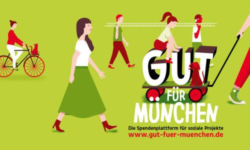 Spendenplattform, Sparkasse, München, gut für München